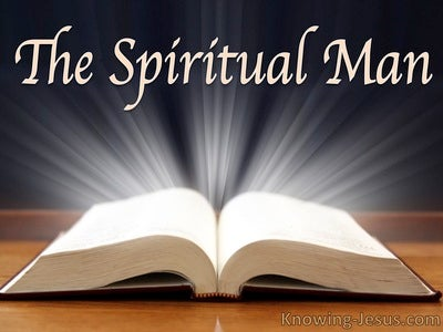 The Spiritual Man (devotional) (gray) - 1 Corinthians 3:1